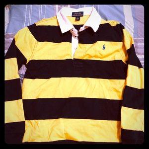 Polo ralph lauren long sleeve shirt size 7 boys